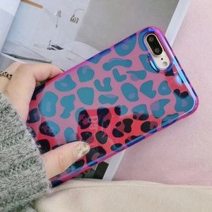 NEW iPhone Max/XR/X/XS/7/8/Plus Laser Leopard case